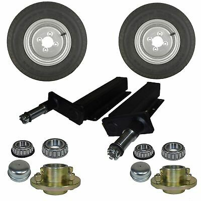 1 Pair 500kgs Trailer Suspension Units  Without Stub Axle or Hub
