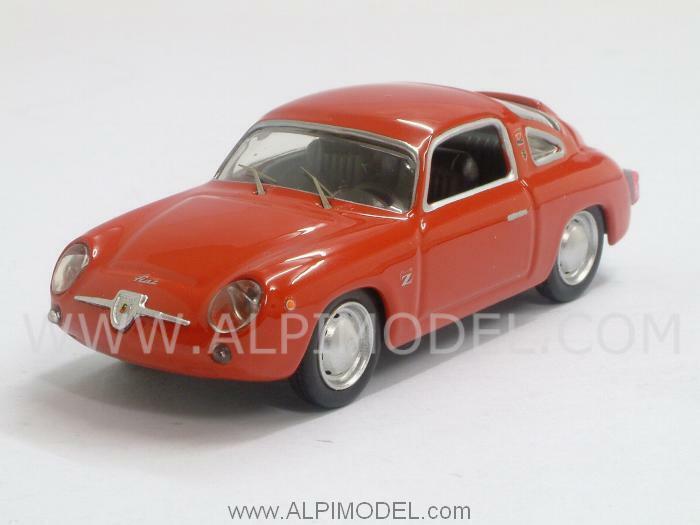 Fiat Abarth 750 Zagato 1958 Provarojo 1 43 BEST 9484