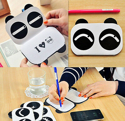 Sweet panda Notepad Memo Paper Diary HO Notebook Exercise AU Book 1Pcs