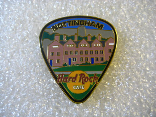 NOTTINGHAM,Hard Rock Cafe Pin,Guitar Pick,*Close Cafe