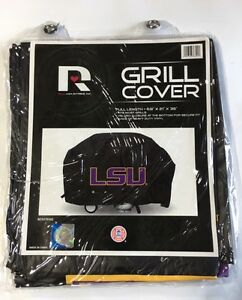 Lsu Tigers Economy Team Logo Bbq Gas Propane Grill Cover New Ebay