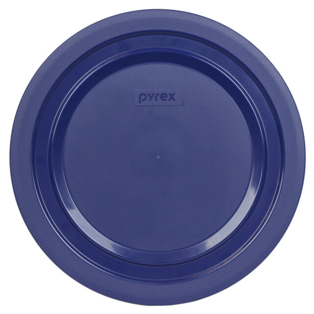 Pyrex Blue Plastic Round 1 Cup Storage Lid Cover 7102-PC for Glass Bowl New