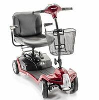 Shoprider Escape 4 Wheel Portable Scooter Mobility 7a With Free Accessories