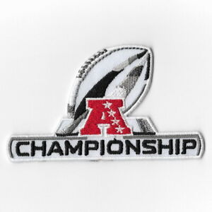 AFC-Championship-Playoffs-Football-Iron-on-Patches-Embroidered-Patch-Badge-FN