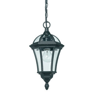 Traditional-Hanging-Lantern-Matt-Black-IP44-Outdoor-Pendant-Porch-Drayton-YG-350