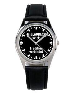 Gladbach-Monchengladbach-Cadeau-Fan-Article-Accessoire-Marchandises-Uhr-B-2275