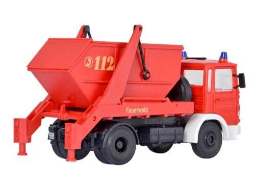 Spur H0 Bausatz Kibri 18201 Feuerwehr MAN 2-achs Absetzkipper