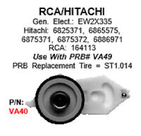 Replacement Idler Assembly For Some Vcrs - Hitachi, Rca, Ge Ew2x335 - Va40 -