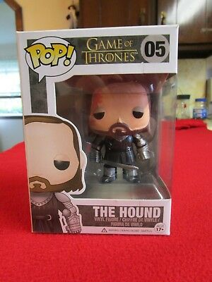 THE HOUND SANDOR CLEGANE FUNKO POP GAME OF THRONES GOT retired vaulted hbo stark