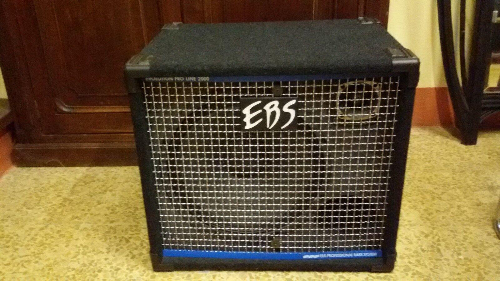 Cassa per basso Proline 2000 mod. EBS 300 - 400 W 4 OHMS magnifica