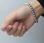 Bracciale-Braccialetto-Perle-Sfere-Palline-In-Acciaio-Inox-Uomo-Donna-Unisex-Top miniatura 6
