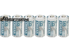 6X Olight CR123A 1600mAh 3V NO-Rechargeable Li-ion Battery for Flashlight Torch