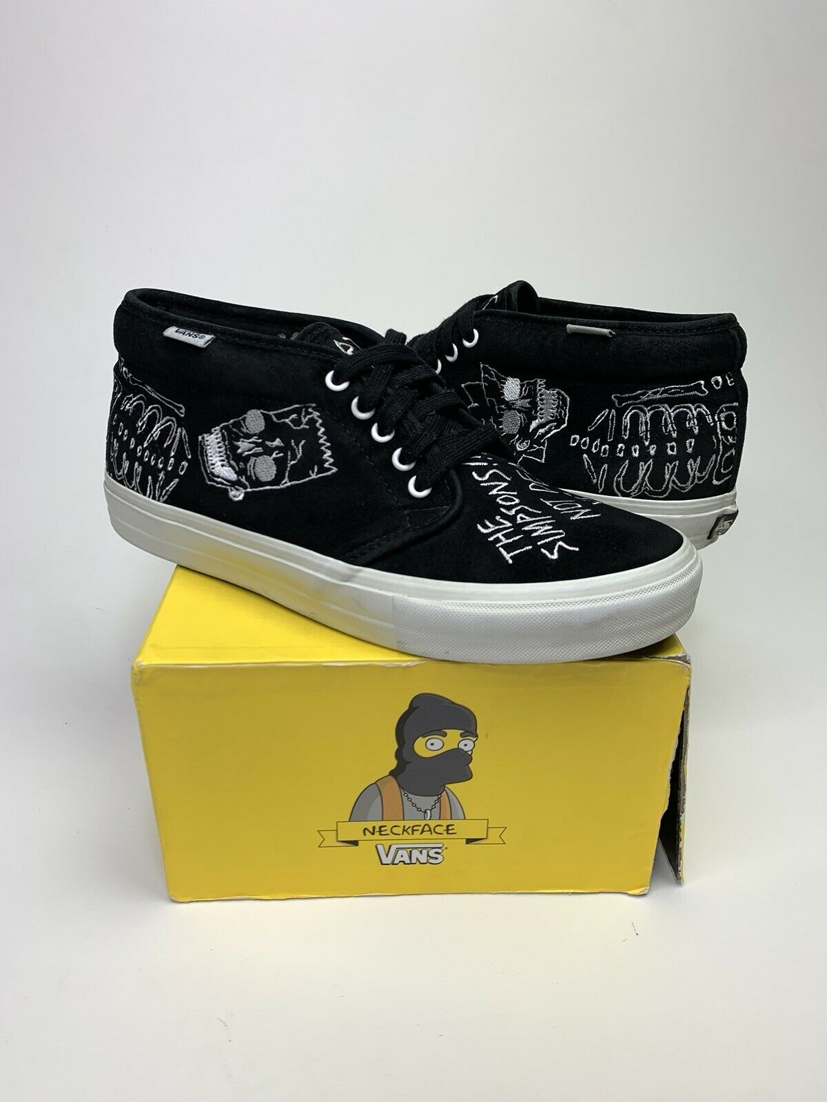 Vans X The Simpsons X Geoff Mcfetridge Chukka Size 10 Supreme Syndicate Wtaps For Sale Online Ebay