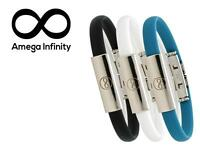 Amega Infinity 2x Magnetic Balance Power Energy Bracelet W Fir Germanium Health