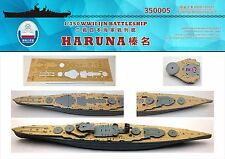 Shipyard 350005 1/350 Wood Deck IJN Haruna for Fujimi