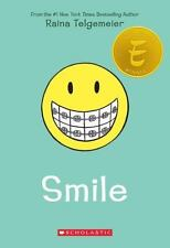SMILE by Raina Telgemeier a wonderful young readers paperback book FREE SHIPPING