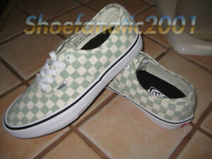 df55451f7a32a2 Vans Sample Authentic Pro Desert Sage Checkerboard 9 Skateboarding ...