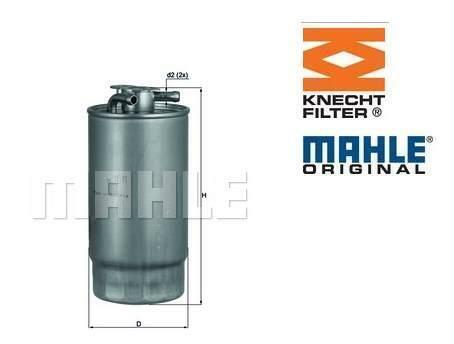 Filtre carburant BMW E46 330d moteurs M57 MAHLE OE KL160//1 13327787825