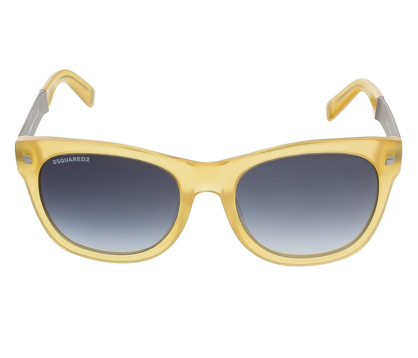 Dsquared DQ0162/S 39W Translucent Yellow Square sunglasses