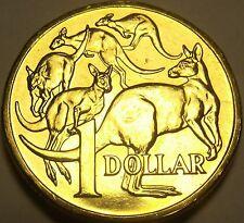 Gem Unc Australia 2006 Dollar~Mob Of Kangaroo's~Beautiful~Free Shipping