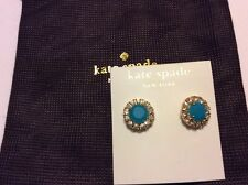 98b0837a41a9d Kate Spade Secret Garden Earrings Bud Green Crystal Studs Wbru7214 ...
