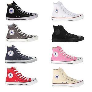 216350f9e13c Converse All Star Chuck Taylor Hi Top Core Colors Black White Red ...