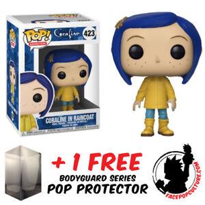 Funko Pop Coraline Coraline In Raincoat Vinyl Figure Free Pop Protector Ebay
