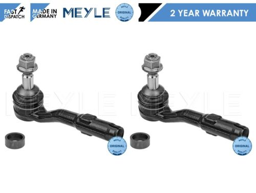 FOR BMW 5 6 7 SERIES E60 E61 E63 E64 E65 FRONT OUTER TRACK TIE ROD END ENDS PAIR
