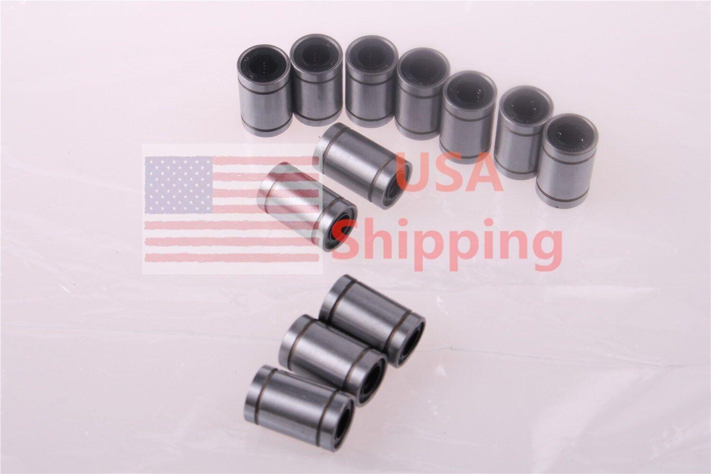 4pcs LM25UU 25mm CNC Linear Ball Bearing Linear Bearing Bushing 25x40x59 mm