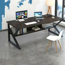 Computer Desk Pc Laptop Table Study Workstation Wood Home Office Furniture 47 In