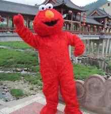 Promotion Sesame Street Elmo Monster mascot costume Cartoon Adult Fancy Dress