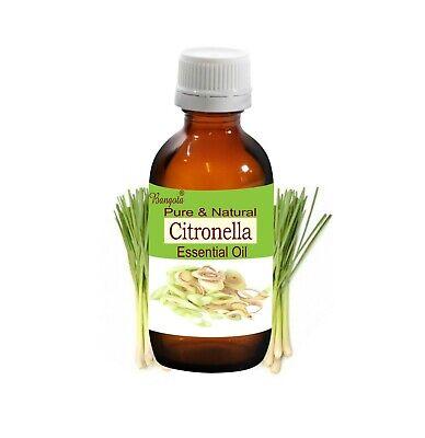 Citronella Pure Natural Essential Oil Cymbopogon Winterianus By