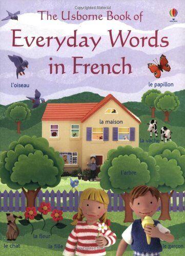 Everyday Words - French (Usborne Everyday Words) By Angela Wilkes