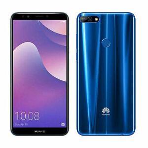 Huawei-Y7-2018-4G-6-034-Smartphone-2GB-RAM-16GB-Storage-Unlocked-Android-Blue-A