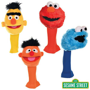 Sesame Street Driver Headcovers Golf Club Official Licensed Genuine New Muppets