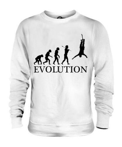BUNGEE JUMP EVOLUTION OF MAN UNISEX SWEATER  Herren Damenschuhe LADIES GIFT CLOTHING