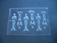 6 il 1 Award Statua Trofeo Cioccolato Stampo Stampi// 10.5CM Alta/Make cifre 3 x 3D