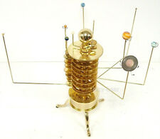 Best Astronomy Gift orrery,Electric Brass Solar System Model,Mars,Jupiter,Saturn