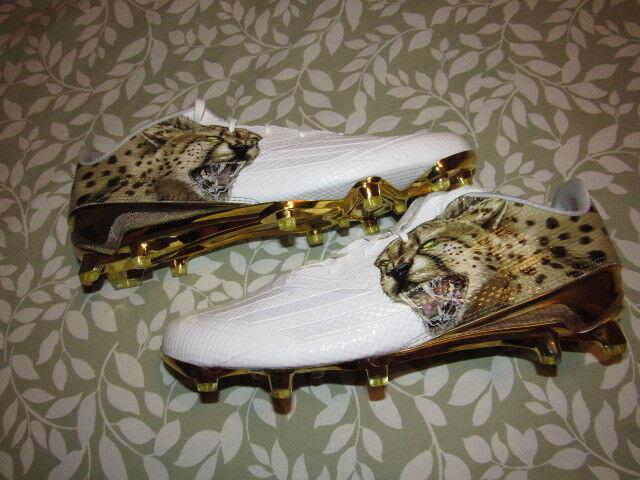 Nwob adidas a cinque stelle 5,0 uomo fece uscire ghepardo aq7716 uomo 5,0 bianco scarpette 13,5 nuovo di zecca 8354ed
