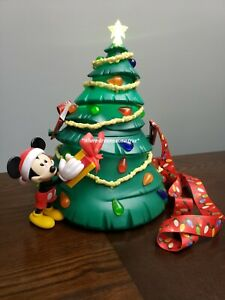 Disney Parks 2019 Mickey's Christmas Tree Holiday Light Up Popcorn Bucket (NEW) | eBay