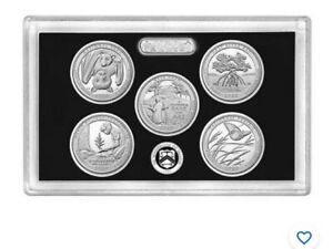 2020 S Silver Proof Set 10 Coin in .999 Silver Ultra Cameo New Release