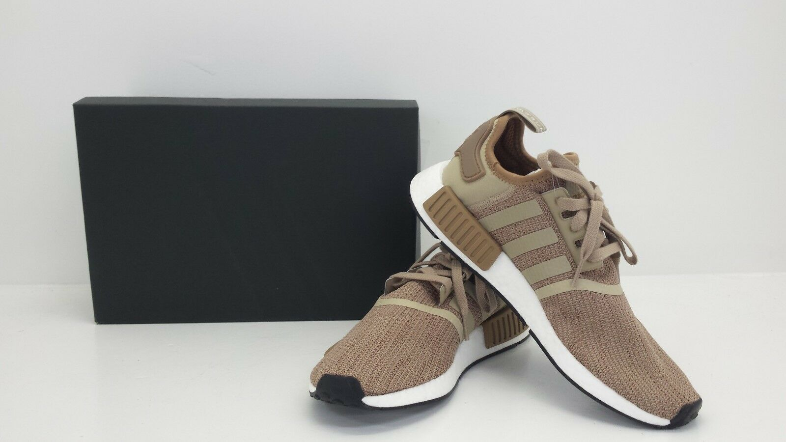 Adidas Originals NMD_R1 Brown/Raw Gold/Cardboard B79760 - BRAND NEW IN BOX