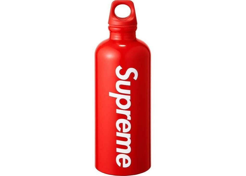 Supreme SIGG Travellers Water Bottle rosso 0.6L SS18 DS