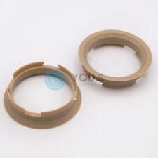 2 reduzierringe para llantas de aluminio-tamaño de Ø 63,4 mm-Ø 57,1 mm nuevo *