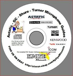 Incredible Astatic Gc Shure Turner Cd Microphone Wiring Guides Mic Handbook Wiring Database Lukepterrageneticorg