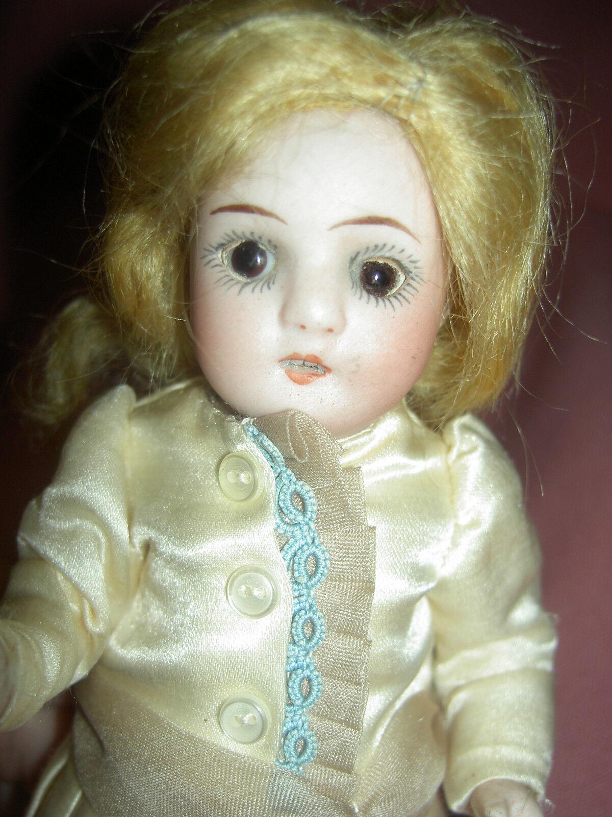 Antiguo Alemán, todos Bisque muñeca casa de muñecas de Bonn Princesa, Excelente Estado