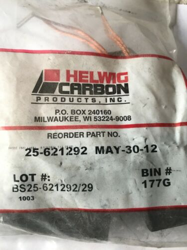 New Helwig Carbon 25-621292 Pack Of 4 100 Amp DC Motor Brush