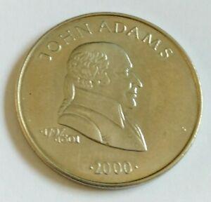 2000-5-of-Liberia-Gem-Proof-United-States-Presidents-Jonh-Adams