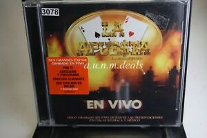 En-Vivo-La-Apuesta-2009-Music-CD-NEW