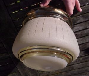 VINTAGE-SHADE-Retro-Clear-Frosted-Glass-Mid-Century-Pendant-Ceiling-Light-Shade